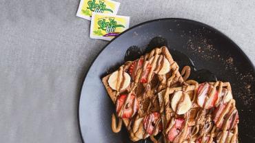 Waffle Bajo en Calorías