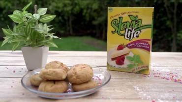 Galletas de chispas de colores con Stevia Life